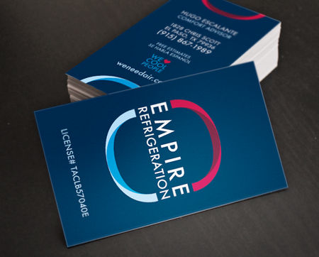 Empire Business Cards